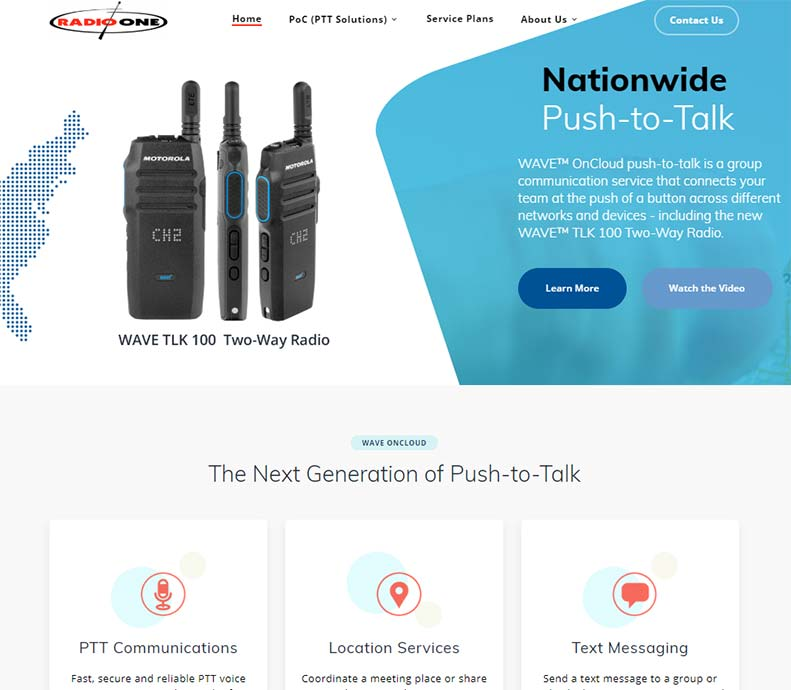 Nationwide PTT Coverage